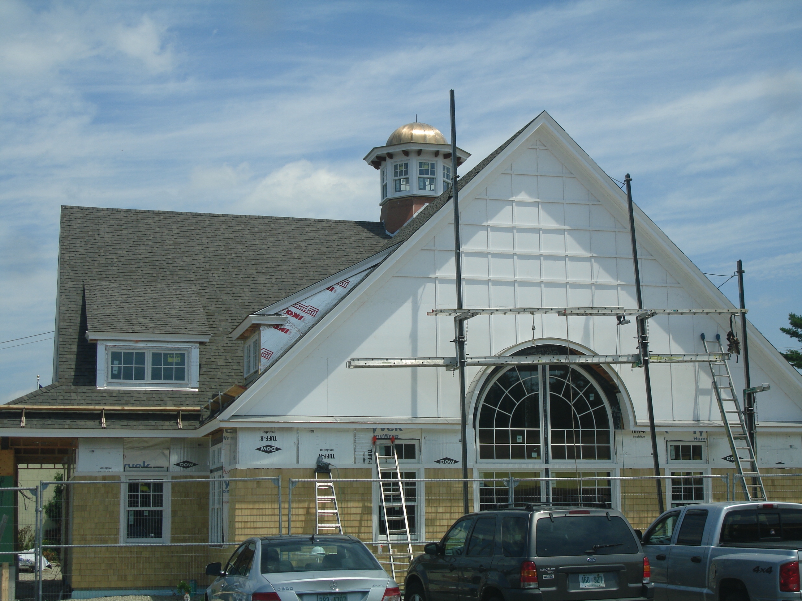 Architectural Custom Design Metal Roof in Kennebunkport Maine