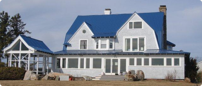 Blue Metal Roof Houses 2019 Color Trends