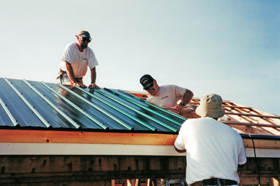 Maine metal roof contractor