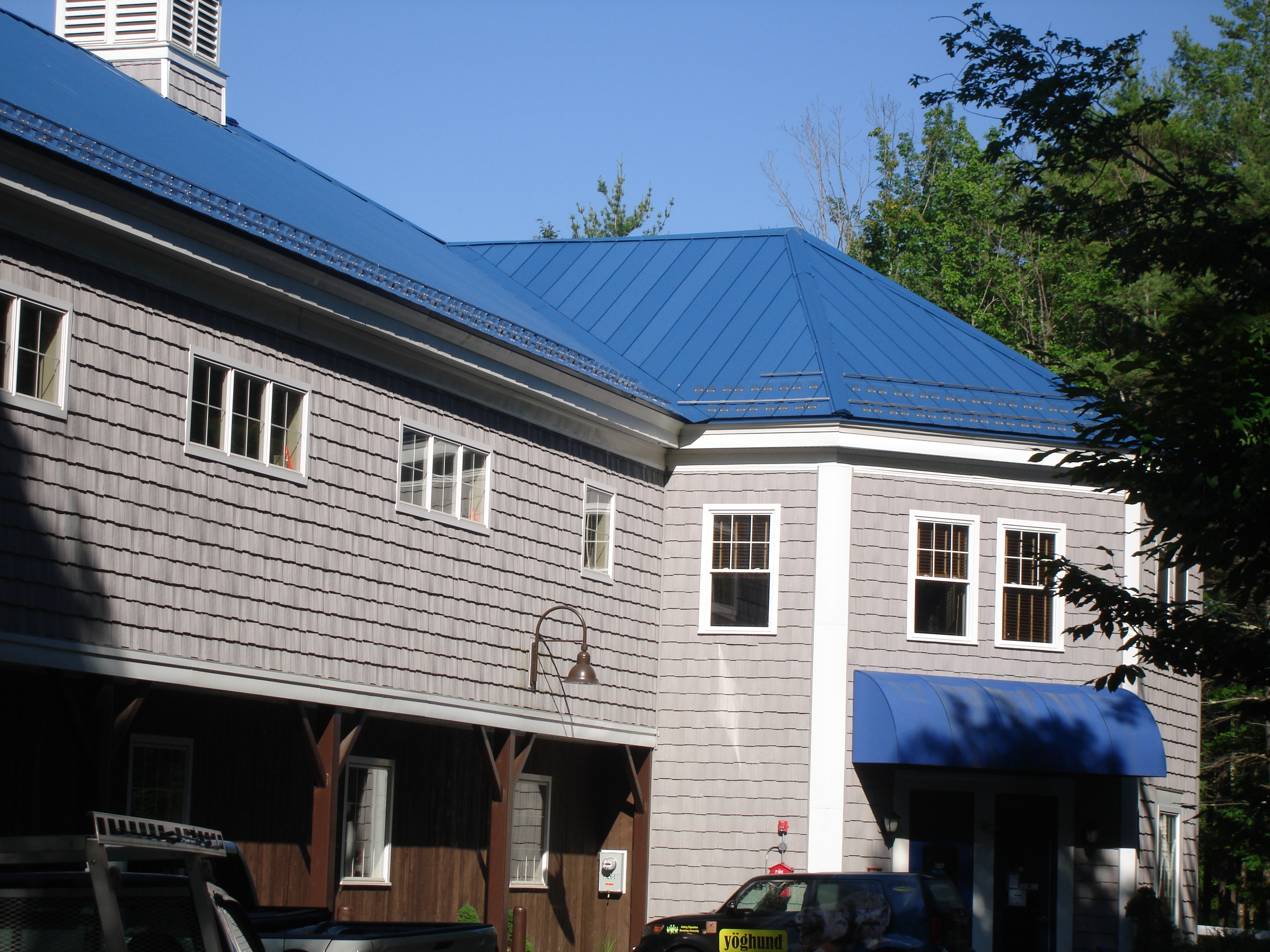 Recent Metal Roof Project